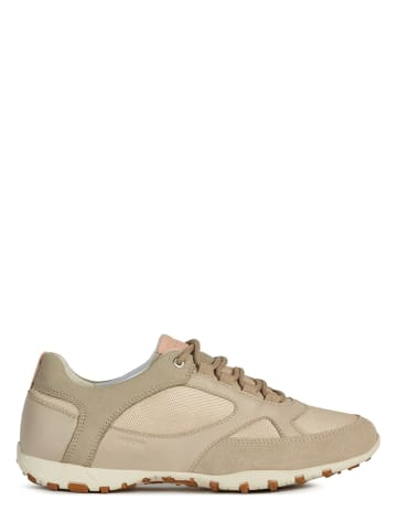 """Geox Sneakers """"Freccia"""" taupe"""