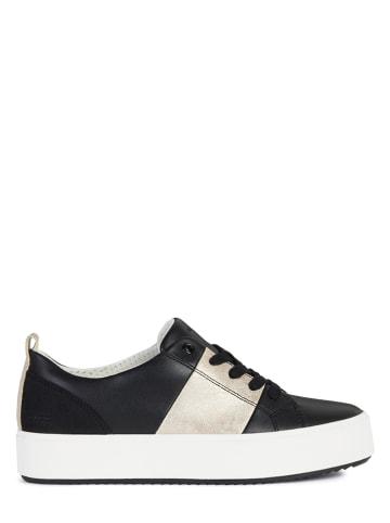 """Geox Sneakers """"Blomiee"""" in Gold/ Schwarz"""