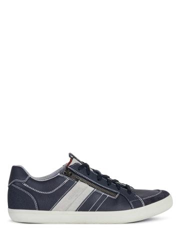 """Geox Sneakers """"Halver"""" donkerblauw"""