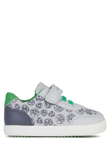 """Geox Sneakers """"Gisli"""" grijs/groen"""