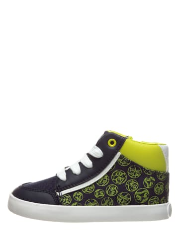 "Geox Sneakers ""Gisli"" in Dunkelblau/ Grün"