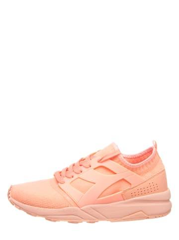 """Diadora Sneakersy """"Evo"""" w kolorze pomarańczowym"""