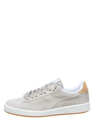 "Diadora Leren sneakers ""Game"" grijs"