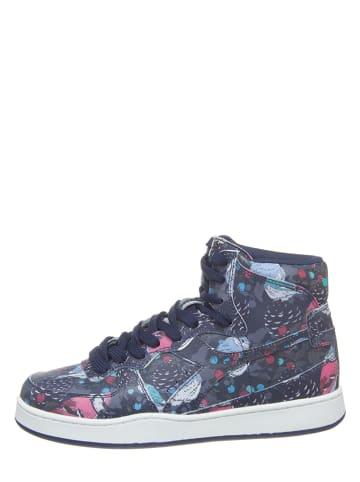 "Diadora Leren sneakers ""Mi Basket WNT"" donkerblauw"