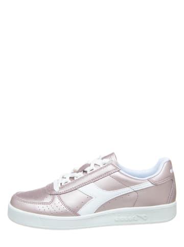 """Diadora Leder-Sneakers """"B.Elite"""" in Rosa"""