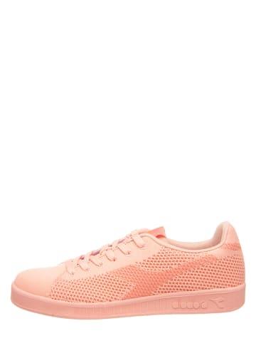 "Diadora Sneakers ""Game Weave"" in Orange"