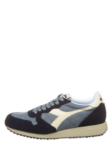 "Diadora Leder-Sneakers ""Tornado"" in Grau/ Schwarz"