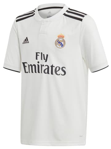"Adidas Fußballtrikot ""Real Madrid Home"" in Weiß"