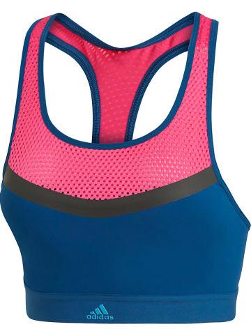 Adidas Bikinitop blauw/roze