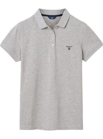 Gant Koszulka polo w kolorze jasnoszarym