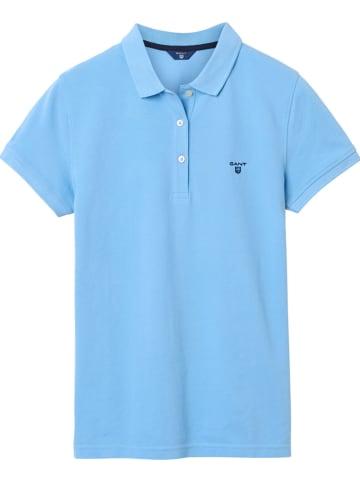 Gant Poloshirt lichtblauw