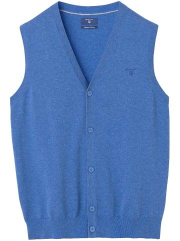 Gant Bezrękawnik w kolorze niebieskim