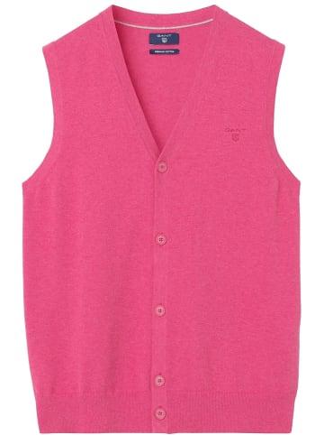 Gant Bezrękawnik w kolorze różowym