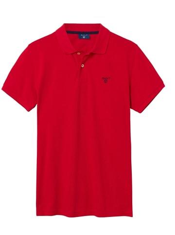 Gant Koszulka polo w kolorze czerwonym