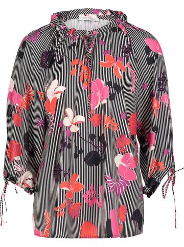 Betty Barclay Koszula w kolorze różowo-biało-czarnym
