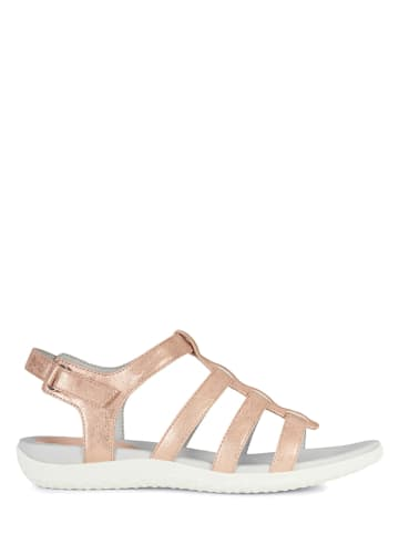 """Geox Sandały """"Vega"""" w kolorze jasnoróżowym"""