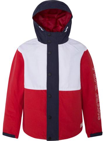 """Pepe Jeans Tussenjas """"Maple"""" rood/wit"""