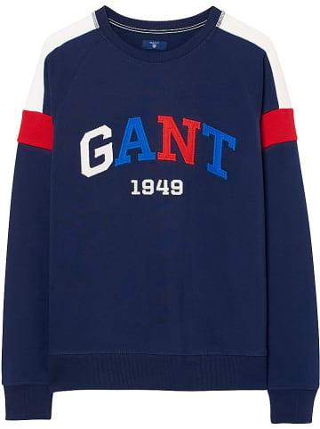 Gant Sweatshirt donkerblauw