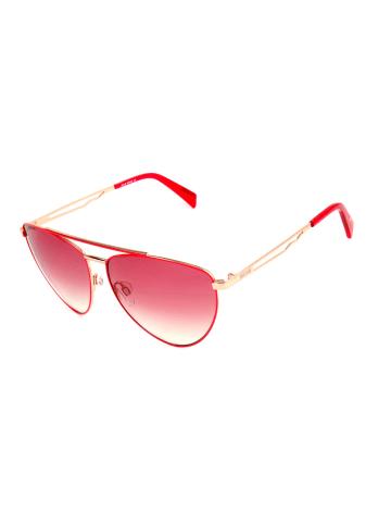 Just Cavalli Dameszonnebril rood-goudkleurig/roze