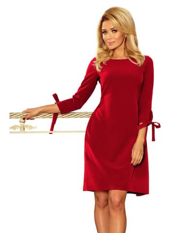 Numoco Sukienka w kolorze czerwonym
