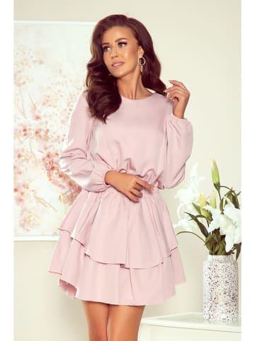 Numoco Sukienka w kolorze jasnoróżowym