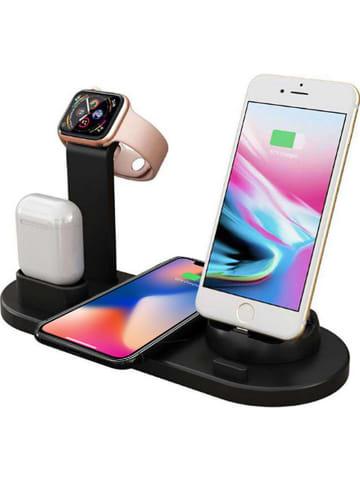 SWEET ACCESS Lightning-Docking-Station für iPhone und Apple Watch in Schwarz