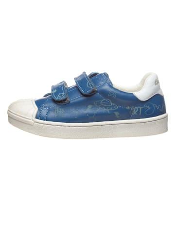 Art Kids Leren sneakers blauw
