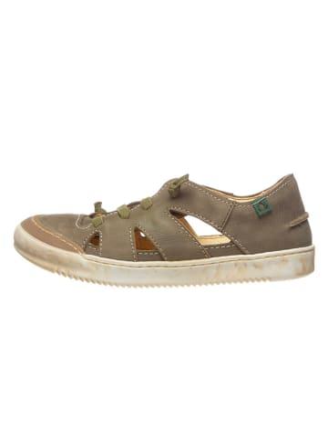 El Naturalista Leder-Sneakers in Grau