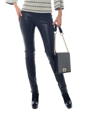 Iren Klairie Spodnie w kolorze czarnym