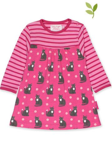 Toby Tiger Sukienka w kolorze różowym