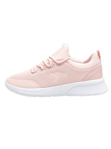 """Kangaroos Sneakersy """"KF-A Glide"""" w kolorze jasnoróżowym"""