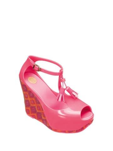 Melissa Sandały w kolorze różowym