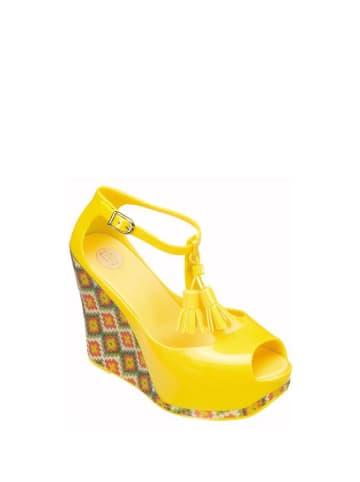 Melissa Sandały w kolorze żółtym