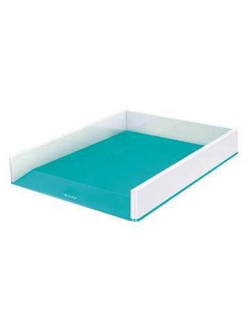 """Leitz Brievenbak """"Wow"""" turquoise/wit - A4"""