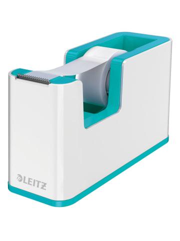 """Leitz Plakbandhouder """"Wow"""" wit/turquoise - (B)12,6 x (H)7,6 x (D)5,1 cm"""