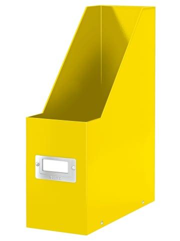 """Leitz Lectuurbak """"Click & Store"""" geel - A4"""