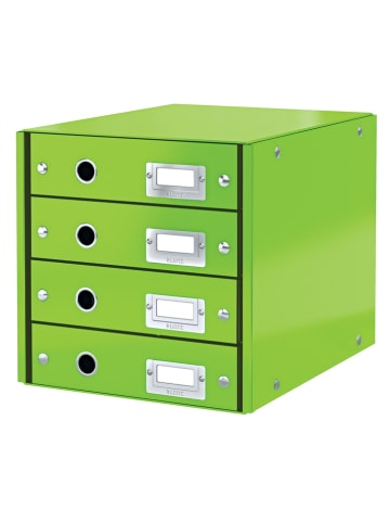 """Leitz Schubladenbox """"Click & Store"""" in Grün - (B)28,6 x (H)28,2 x (T)35,8 cm"""