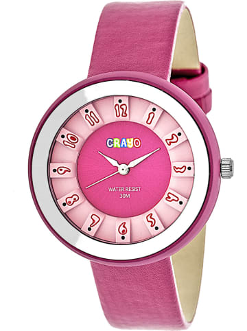 "Crayo Quarzuhr ""Celebration"" in Pink"