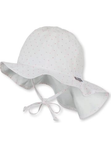 Sterntaler Kapelusz w kolorze biało-jasnoróżowym