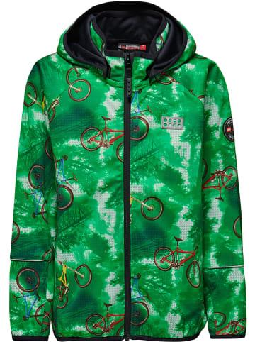 Legowear Softshelljas groen
