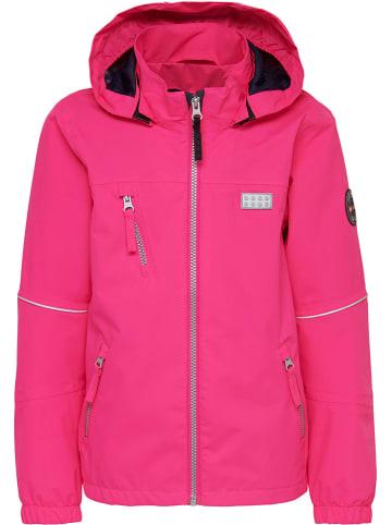 """Legowear Kurtka przejściowa """"Josefine 205"""" w kolorze różowym"""
