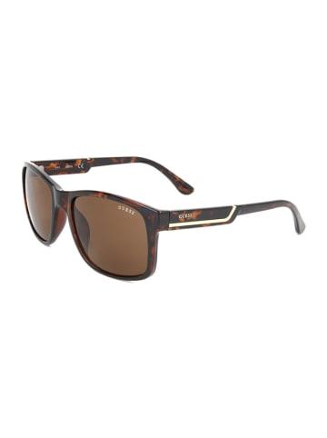 Guess Herren-Sonnenbrille in Braun