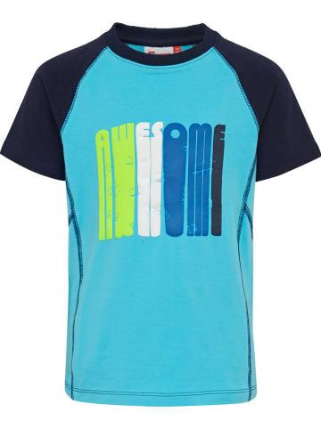 """Legowear Koszulka """"Tiger 340"""" w kolorze turkusowym"""
