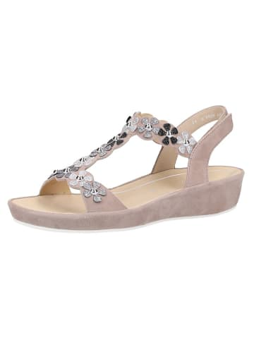 Ara Shoes Leder-Sandaletten in Beige
