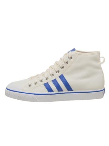 "Adidas Sneakers ""Nizza Hi"" crème/blauw"