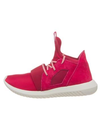 """Adidas Sneakersy """"Defiant W"""" w kolorze czerwonym"""