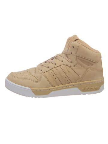 """Adidas Skórzane sneakersy """"M Attitude Revive"""" w kolorze beżowym"""
