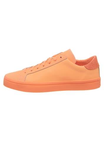 "Adidas Sneakers ""Courtvantage Adicolour"" oranje"