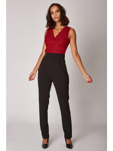 Special Dresses Jumpsuit in Bordeaux/ Schwarz