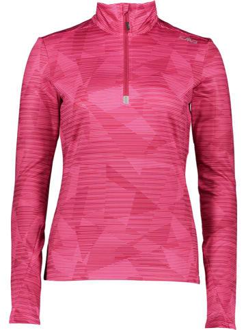CMP Koszulka funkcyjna w kolorze różowym